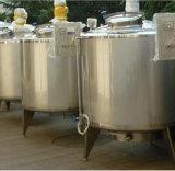 El tanque de la preparación de la bebida con el tanque de mezcla de mezcla del mezclador