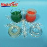 Velas perfumadas de la soja de las granes cantidades con el tarro de cristal