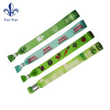 Bracelet de tissu de festival fait sur commande de qualité beau
