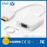 HDMI al cable de la conversión del VGA