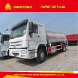 Sinotruk HOWO 6X4の最もよいオイルタンクのトラックのタンク車