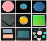 Lentilles positives optiques non-enduites UV de ménisque de silice protégée par fusible de D76.2mm