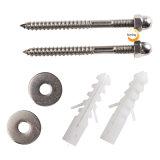 Bulloni della riparazione della toletta dell'acciaio inossidabile del hardware dell'impianto idraulico