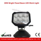 30W weiße LED Flut-Arbeits-helle fahrende nicht für den Straßenverkehr Arbeits-Lampe für SUV Jeep