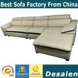 Best Quality Wholesale Price Home Furniture Leather Sofa (A80)