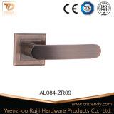 문 부속품 줄무늬 알루미늄 문 레버 손잡이 (AL063)