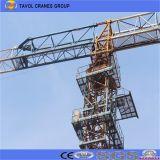Gute Qualitäts-und flache Oberseite-Turmkran des Preis-10ton