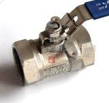 Form-Kohlenstoffstahl Wcb Kugelventil des Innengewinde-1PC