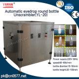 Автоматическая круглая бутылка Unscrambler для стеклянных бутылок (YL-20)