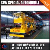 Carro de trabajo de arriba del mejor alto de la plataforma 4X2 de China carro del trabajo