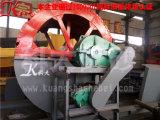 Arena fina modificada para requisitos particulares que se lava y planta de reciclaje