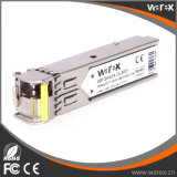 Cisco 다른 회사 GLC-BX80-D BiDi SFP 1550nm-TX/1490nm-RX 80km 광학적인 모듈