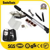 Minifahrrad-Pumpen-u. Gummireifen-Durchbohrung-Reparatur-Installationssatz u. Multifunktionsfahrrad-Mechaniker-Reparatur-Hilfsmittel