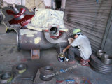 Einzelnes Stadiums-aufgeteilter Fall-zentrifugale industrielle Pumpe