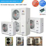 Amb. -25C зимнего отопления полов номер 12квт/19квт 220V R407c конденсаторный Split Иэу системы система динамического отопления