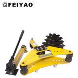 Máquina de doblado manual hidráulica de la pipa para la barra de acero Fy-Swg-60