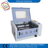 Cj-L3040 fabriqué en Chine 1 ans de garantie de CO2 de laser de machine de découpage