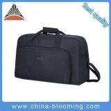 Il Duffle impermeabile nero della spalla di corsa della borsa mette in mostra il sacchetto