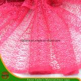Ткань полиэфира вышивки высокого качества (HSHY-1704)