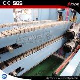Plastikmaschinerie-hohe verdrängengeschwindigkeits-Doppelstandplatz Belüftung-Rohr-Strangpresßling-Zeile