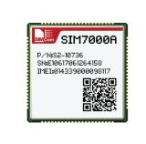 低い電力NbIot FDD B2/B4/B12/B13のモジュールSIM7000A Lccのタイプ