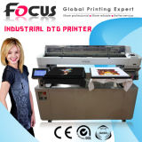 Foco direto para Roupa de mesa digital T-shirt Industrial Impressora