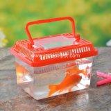 De vierkante Kom van de Vissen van de Carrier van het Huisdier van de Vorm Plastic