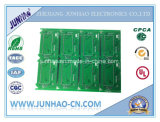 PWB rígido do brinquedo frente e verso do PWB do verde da placa de circuito impresso de 2layer Fr4
