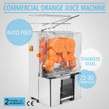Máquina alaranjada comercial elétrica do Juicer do Squeezer do limão da auto alimentação com Ce