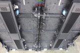 P3.91 P4.81角度の調整装置が付いている屋内曲げられたLEDの適用範囲が広い表示画面
