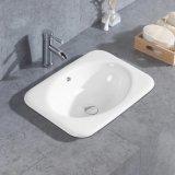 Санитарные продовольственный керамические выше Counter раковина для ванной комнаты (T125)