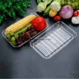 Одноразовые пластиковые ясно складные складные ПВХ/Pet/PP/PS контейнер для продуктов питания
