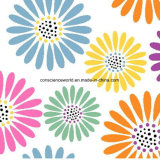100%Polyester цветки Pigment&Disperse напечатали ткань для комплекта постельных принадлежностей