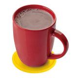 زاهية مستديرة يشكّل حرارة - مقاومة سليكوون فنجان مزالج