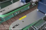 Máquina de etiquetas dos lados do dobro da parte traseira da parte dianteira da etiqueta do papel da etiqueta do frasco