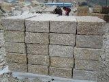 Granit jaune rouillé de la construction préfabriquée G682 Worktop/brame/tuile/cube pour la cuisine
