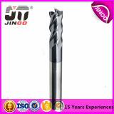 Jinoo 2/3 Flutes Sólidos Mills Carbide End para o alumínio