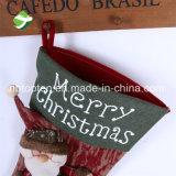 아름다운 Xmas 스타킹 호화스러운 자루 산타클로스 개인화된 호화로운 크리스마스