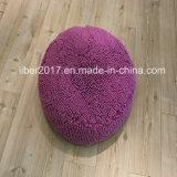 Estera del colchón del perro del diseño de los accesorios del animal doméstico pequeña del gato de la base del juguete púrpura redondo del animal doméstico