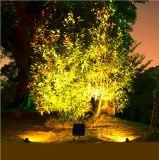Wasserdichte IP65 im Freien LED helle Lampen-Landschaftspunkt-Solarlichter
