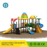Parque Infantil exterior de plástico coloridas crianças Equipamento do parque de diversões