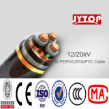 N2xsey 3*240mm2 Copper XLPE Insulation PVC Sheath Copper Wire Screen Power Cables