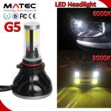 Farol do Carro de LED H1 H3 H7 H11 H4 880 881 9006 9005 COB FAROL LED, 40W 80WKit Faróis LED