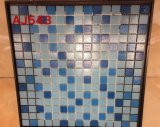 mosaico de cristal de los azulejos de 300X340m m en Foshan (AJ543)