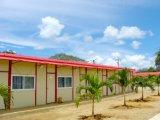 casa prefabricada enlazable de los 20FT/40FT para la oficina en paquete plano