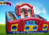 Campo de jogos inflável do obstáculo inflável combinado inflável do preço de fábrica da alta qualidade para miúdos