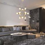Verlichting van de Lamp van de Tegenhanger van de Kroonluchter van het Glas van de manier Post-Modern voor Huis of Restaurant