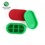 실리콘 방수 환약 저장 케이스 또는 실리콘 환약 상자