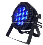 Высокая мощность светодиодного освещения для использования вне помещений Waterpfroof 12ПК 6в1 LED PAR лампа