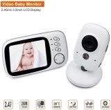 Vb603 아기 모니터 3.2 인치 LCD IR 야간 시계 아기 모니터